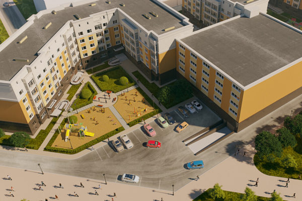Жилые комплексы Астана